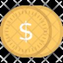 Dollar Coins Icon