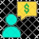 Dollar Chat Bubble Chat Bubble Dollar Chat Icon