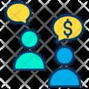 Dollar Conversation Conversation Dollar Icon