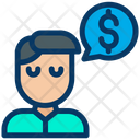Dollar Conversation Icon