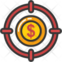 Dollar Crosshair Icon