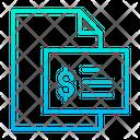 Dollar Description Money Slip Receipt Icon