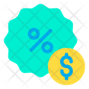 Discount Dollar Offer Icon