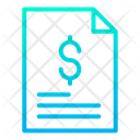 Document Business Document Dollar Agreement Icon