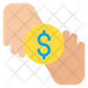 Dollar Donation Coin Icon