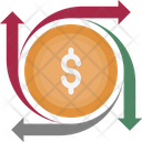 Currency Exchange Dollar Dollar Valuation Icon