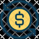 Dollar Exchange Dollar Update Icon