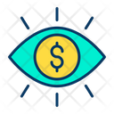 Dollar Eye Dollar Eye Icon