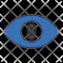 Dollar Eye Icon