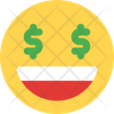 Dollar Eyes Icon