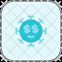 Dollar Eyes Icon