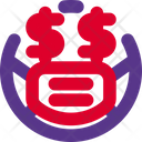 Dollar Eyes Emoji With Face Mask Emoji Icon
