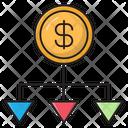 Dollar Network Banking Icon