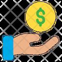 Funding Help Dollar Icon