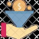 Dollar Funnel Icon