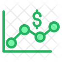 Dollar Graph Icon