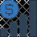 Dollar Graph Earning Graph Money Icon