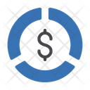 Dollar Graph Icon