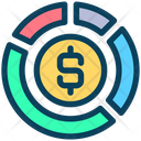 Dollar Graph Dollar Graph Icon