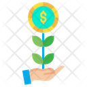 Dollar grow Icon