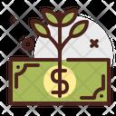 Dollar Grow Icon