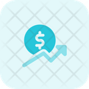Dollar Growth Icon