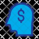 Dollar Head Icon