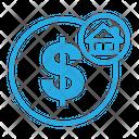 Dollar Home Icon