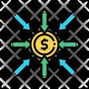 Dollar Income Income Budget Icon
