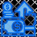 Money Hand Growth Icon