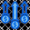 Dollar Increase Graph Icon