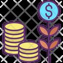 Dollar Investment Icon
