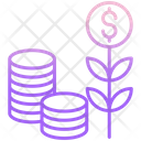 Mmoney Investment Dollar Investment Growth Icon