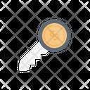 Dollar Key Key Dollar Icon