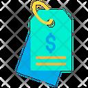 Dollar Tag Tag Label Icon