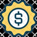 Dollar Label Dollar Label Icon