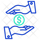 Dollar Loan Icon