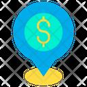 Dollar location Icon