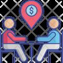 Dollar Location Pin Map Icon