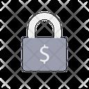 Dollar Lock Icon