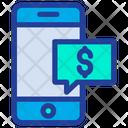Dollar M-Commerce Icon