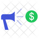 Dollar Marketing Marketing Promotion Icon