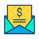 Dollar Message Dollar Mail Icon