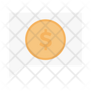 Dollar Message Finance Icon