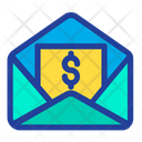 Dollar Message Icon
