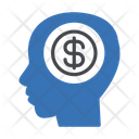 Dollar Mind Head Icon