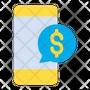 Dollar Mobile Icon