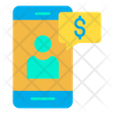 Dollar Mobile Online Payment Mobile Banking Icon