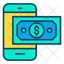 Dollar Mobile Dollar Mobile Icon
