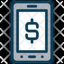 Dollar Mobile Dollar Online Icon